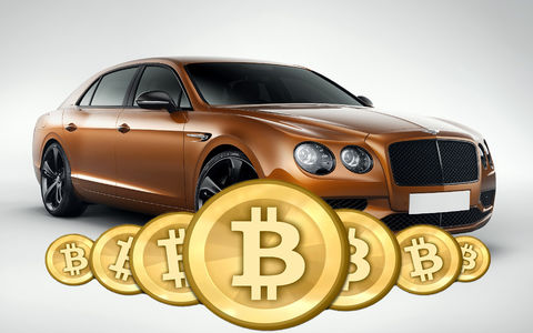 В России пытались продать Bentley за биткоины. Прокуратура не разрешила