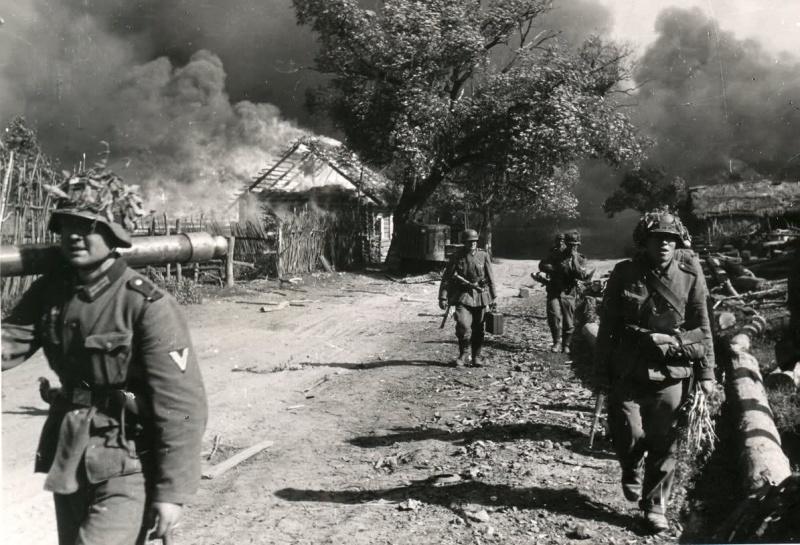 Немецкие солдаты о советских солдатах