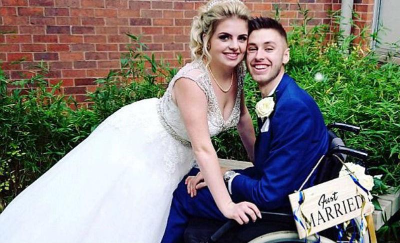 Умирающий британец сделал предложение девушке, но диагноз оказался ошибочным