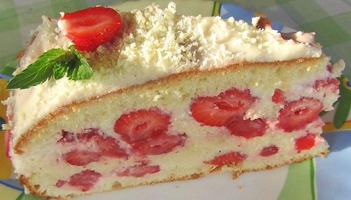 Июньский торт