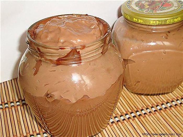 Шоколадная вкуснятина, которую можно есть ложками!