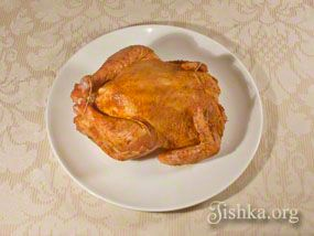 Запеченная курица в рукаве а-ля гриль
