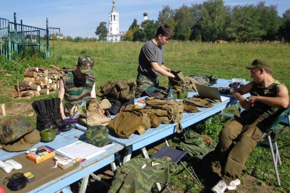 Русские мужчины ждут большой войны