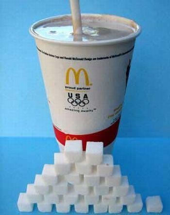 Сахар. Вред, польза и содержание в напитках и продуктах питания