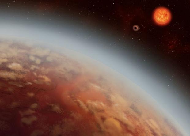 У экзопланеты в обитаемой зо…