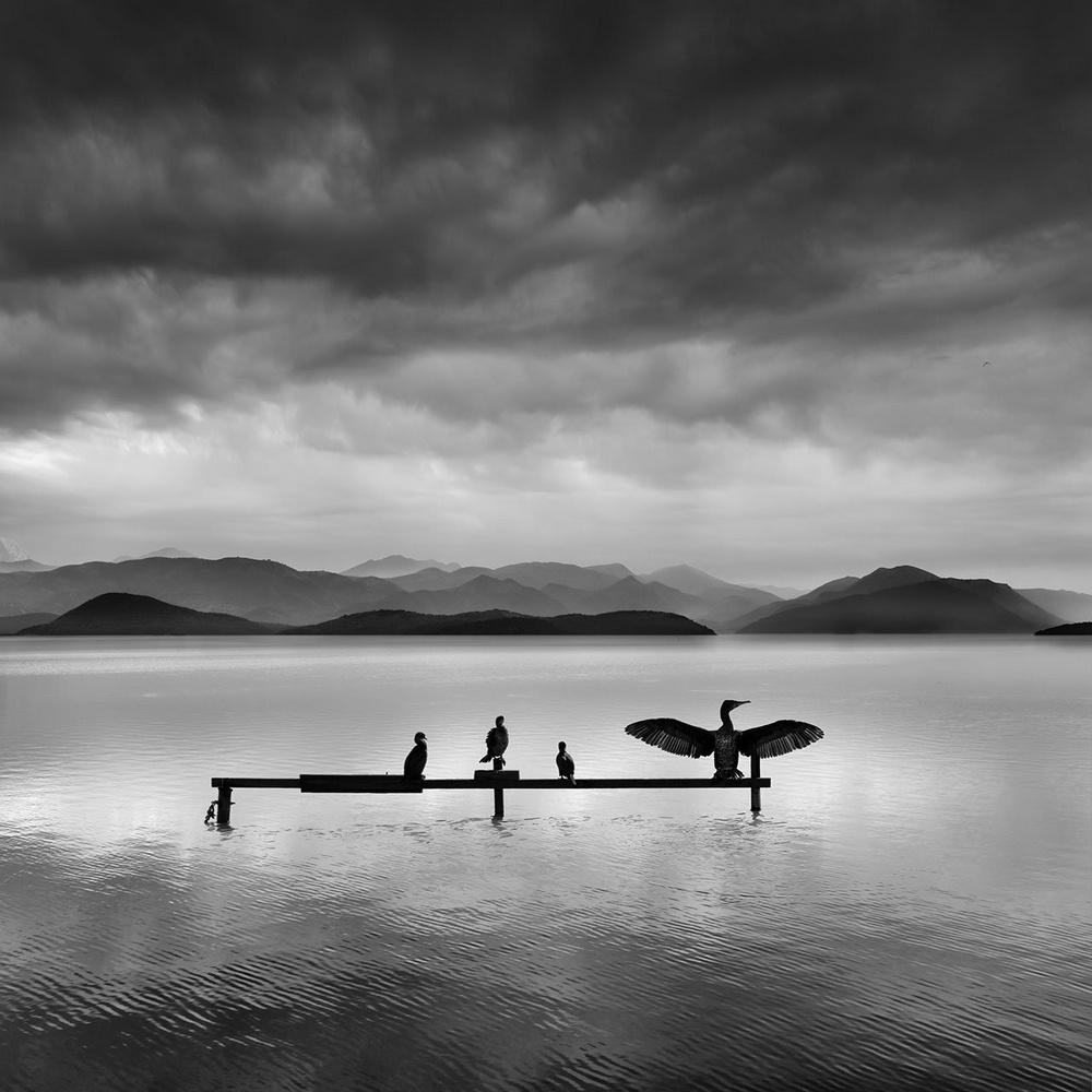 Чёрно-белые пейзажи, уходящие за пределы реальности. Фотограф Джордж Дигалакис 15