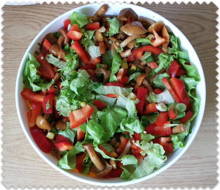 """Салат """"Мексиканский"""" Вкусно, Вкусняшки, Вкусно и быстро, Счастливая семья, Sibiriada, Гармония"""