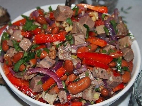 Салат «Тбилиси»