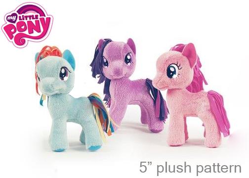 Выкройка пони из My Little Pony