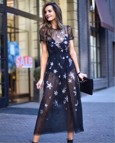 Какое платье надеть в новогоднюю ночь