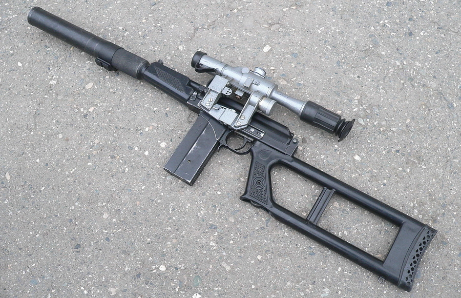 Снайперская винтовка ВСК-94 (http://k-a-r-d-e-n.livejournal.com) - Без шума и пыли | Военно-исторический портал Warspot.ru