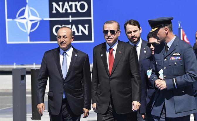 Эрдоган выйдет из НАТО в отместку за Иерусалим