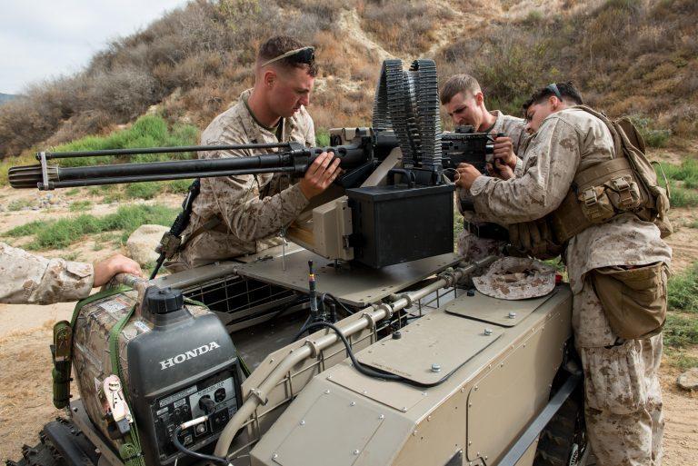 Американские морпехи тестируют «оружие будущего»