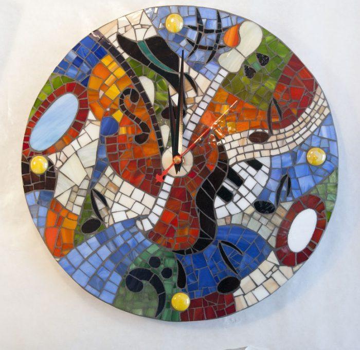 Отходы керамической плитки в качестве декора