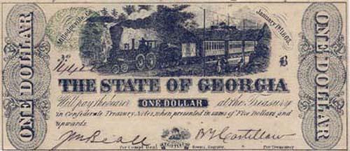 Один доллар из Джорджии