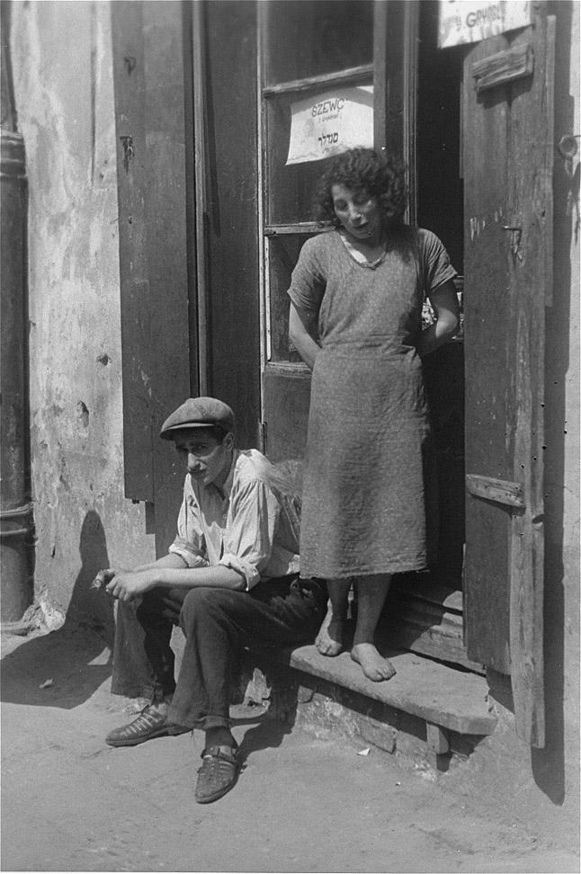 Запретные фотографии: варшавское гетто летом 1941 года