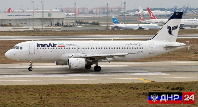 В Иране разбился самолёт с 60 пассажирами на борту