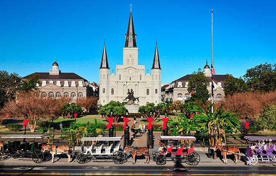 Луизиана начнет серию меропр…