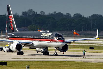 Личный самолет Трампа оказался бывшей собственностью мексиканского лоукостера