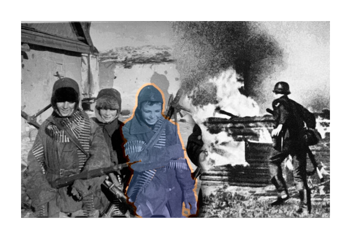 Как советские детдомовцы с трофейным оружием, защитили своё село от солдат Вермахта