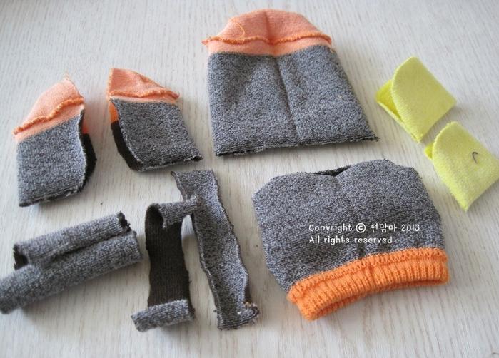 ворона. игрушки из носков (3) (700x502, 598Kb)