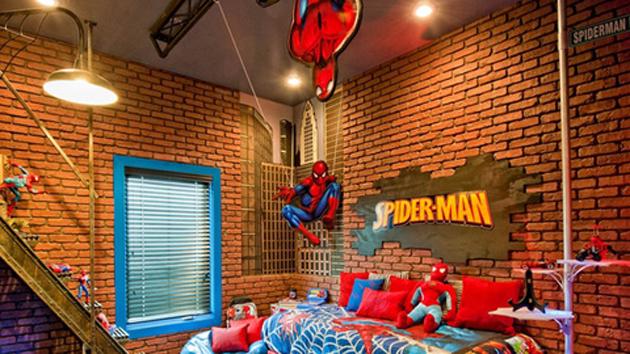 Комната человека паука своими руками 89