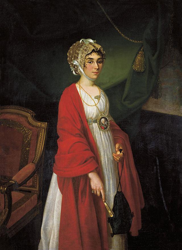 Прасковья Жемчугова. Николай Аругнов. 1803 год.
