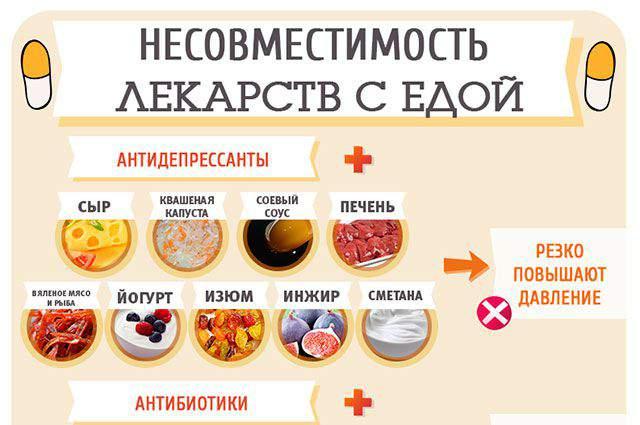 из-за какие фрукты нельзя есть с антибиотиками подходящее место