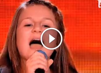 Румынская девочка покорила зал песней Аллы Пугачевой! Это просто волшебное выступление!