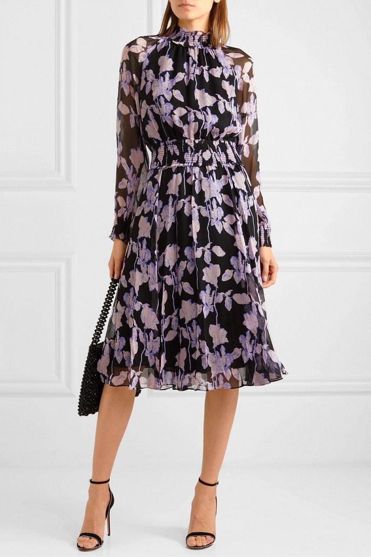 Платья с цветочным принтом - наш ответ серым осенним будням фото №1