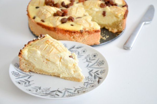Немецкий творожный пирог / Vanhasaksalainen juustokakku — вкусно и необычно!