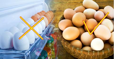 Вот почему нельзя хранить яйца в холодильнике