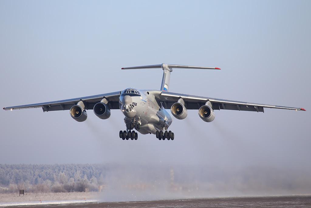 Начат второй этап заводских испытаний военно-транспортного самолета Ил-76МД-90А