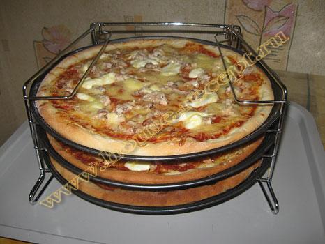 Пицца в электрической духовке рецепт с пошагово