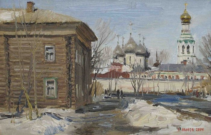 художник Евгений Борисович Молев картины – 04