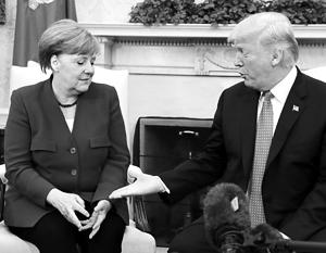 Почему немцы относятся к США…