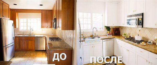 Обновления своими руками кухня