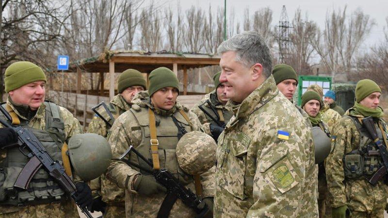 В Сети высмеяли слова Петра Порошенко об укреплении линии обороны Украины