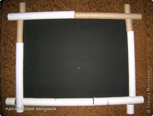 Мастер-класс Рама паспарту Моделирование конструирование Как самому сделать бамбук? Легко Материал бросовый фото 6