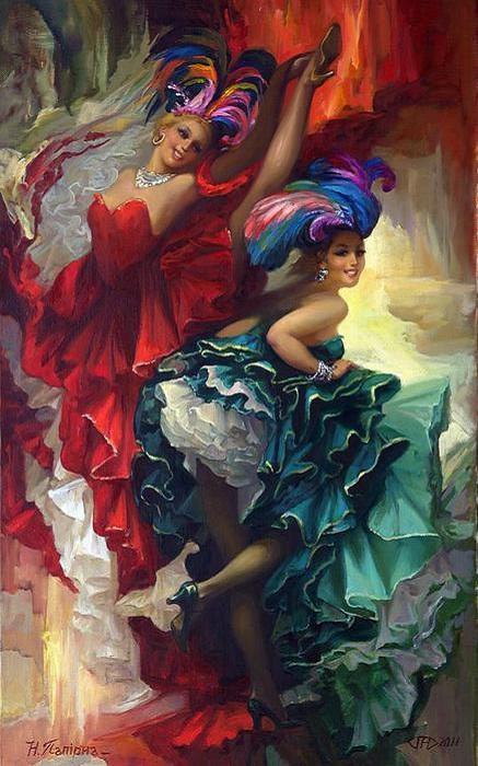 Канкан - «утиный» танец, ставший визитной карточкой всех кабаре
