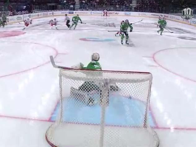 Хоккеист «Локомотива» забил самый быстрый гол в истории КХЛ
