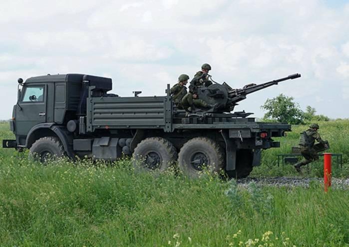 В ЮВО проводятся тренировки по противовоздушной обороне объектов