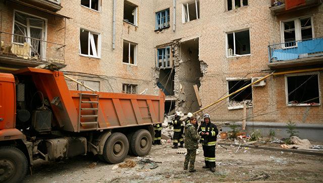 Сотрудников газовой службы не пустили в дом в Волгограде, который позже взорвался
