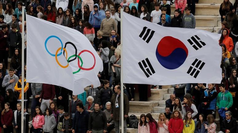 Times объявила шуточный конкурс на «нейтральный флаг» для олимпийцев из России