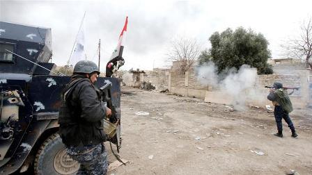 Иракская армия пошла наштурм района Старый город западного Мосула