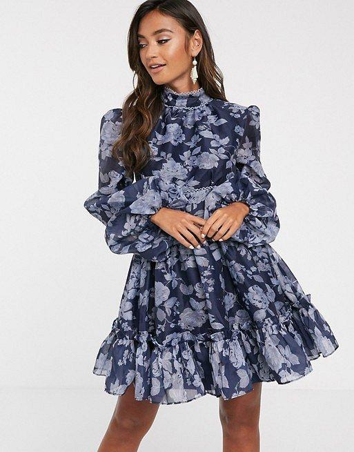 Платья с цветочным принтом - наш ответ серым осенним будням фото №19