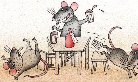 Научный анекдот. Проблема третьей мыши