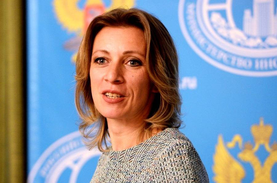 Захарова опубликовала видео с «домогательствами» Макрона к Трампу