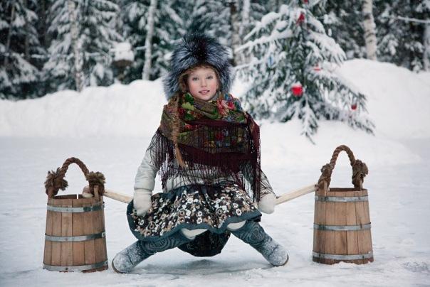 Красавицы зимнее очарование 2