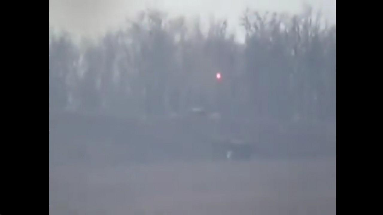 Обстрел позиций ДНР под Ясиноватой